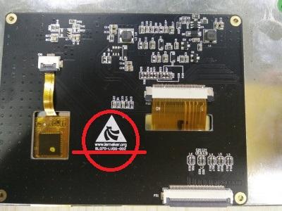 Дисплейный модуль BL070-LVDS-002
